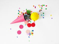 DIY Ice Cream Cone Party Favors Tutorial