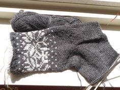 warme sokken brei je in juni!