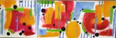 """Contemporary Painting - """"A Walk in the Sun"""" (Original Art from Zenobia Abstract Art)"""