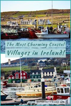 Charming coastal village scenes from an Ireland 10 day itinerary. Europe Travel Tips, European Travel, Travel Destinations, Travel Guide, Travel List, Travel Ideas, Scotland Travel, Ireland Travel, Scotland Trip