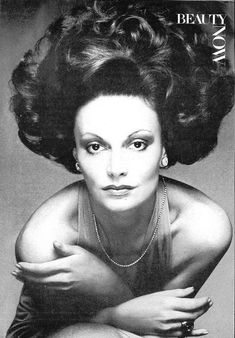 Diane von Furstenberg by Bob Stone for Vogue, January 1974.