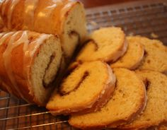 Quick Cinnamon Swirl Yeast Bread (GF version included)