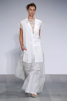 super cute vest top! with side slits// Akira Australia Resort 2017 Fashion Show