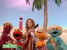 Sesame Street: Sheryl Crow: The Letter i Soaks Up the Sun - YouTube