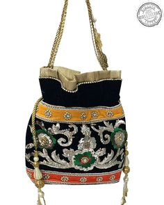 Make Your Look Astounding Like Never Before By Carrying This Beautiful  Potli bag. Buy this f23918d14f5f5
