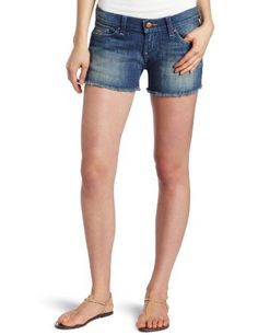 Lucky Brand Women's Riley Denim Cut-Off Short Lucky Brand. $69.50. Made in Mexico. Machine Wash. Riley denim cut off short. 99% Cotton/1% Lycra
