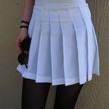 Bildresultat för white tennis skirt