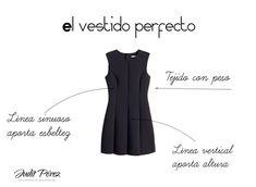 Cómo es el vestido perfecto para disimular la barriga. #vestidoperfecto #disimularbarriga #trucosdeestilismo