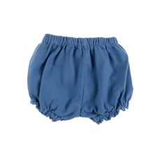 With a gently gathered waist and a ruffle hem, these bloomers offer freedom of…