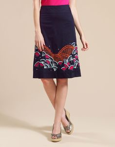 So skirts are looking a-line and knee length or long??!! Cool!!!!