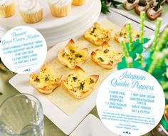 Guests will be retelling the legend of your Japapeno Quiche Poppers for years to come.   #PinnacleVodka #Whipped #Vodka #Cocktails #LuckofTheIrish #StPaddys #StPatricksDay #Recipes #FoodPairings