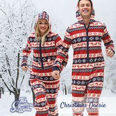 Nordic Christmas Fleece Onesie - Custom screen-printing & embroidery   t shirts   hoodies   uniforms   promotional merchandise   The Signature Works   Bangor, Northern Ireland
