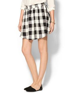 Everly Clothing Blackwatch Skirt | Piperlime