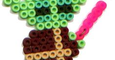 Yoda Star Wars hama beads by Olivia de Bona Truc
