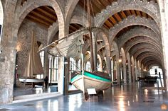The Museum has a collection of original crafts for work and leisure and most of which comes from the Catalan coast. Barcelona Tourism, Maritime Museum, Seaside, Coast, Culture, History, City, Collection, Museums