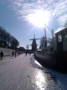 Winter @bolwerken Dokkum, Netherlands