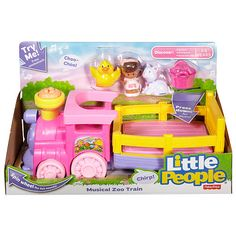 "Fisher-Price Little People Musical Zoo Train - Fisher-Price - Toys ""R"" Us"