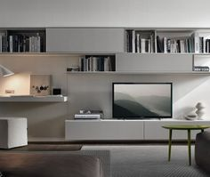 17 Terrific Living Room Wall Units Photo Ideas