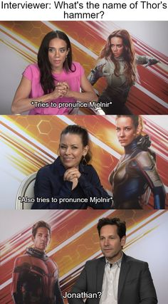 I guess it's not Mjolnir now