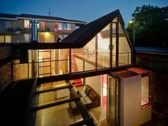 The Vader House Fits Big Concepts Into a Tiny Space #architecture