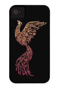 Phoenix Phone Case for iPhone 4/4s,5/5s/5c, iPod Touch, Galaxy S4