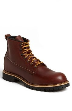 Red Wing 'Ice Cutter' Round Toe Boot