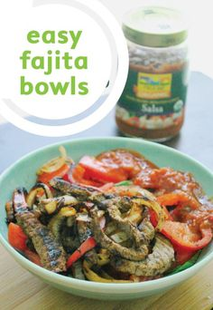 Learn how easy it is to make these super savory and juicy fajita bowls.