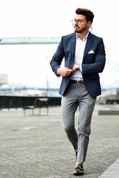 Business meeting attire.