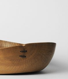 Oak bowl by George Peterson at Analogue Life