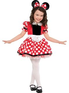 Girls Red Minnie Mouse Costume - Party City  sc 1 st  Pinterest & toddler minnie mouse costume - Google Search   Halloween Ideas ...