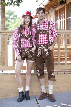 #Köln #Lederhosen #Oktoberfest #couple