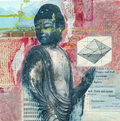 Be grateful for those who have paved the road before us so that we may arrive on time & looking fabulous! Everything And Nothing, Dalai Lama, Before Us, Mixed Media Collage, Trance, Vintage Books, Buddha, Mosaic, Movie Posters