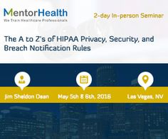 Hipaa Has Guidelines For Meeting What Should Perhaps Be The Most