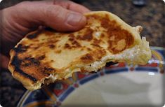 Romanian flatbread  - CODRUTA'S CHEESE FLATBREAD