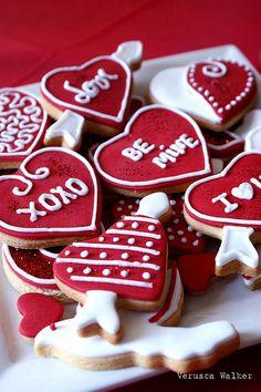 Cute cookies, next valentines Idea (:
