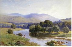 Harry Sutton Palmer (1854-1933) On the River Conway Watercolour