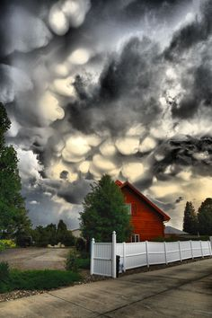 Colorado storm clouds