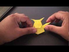 Origami Daily - 016: Pokemon Pikachu Bookmark - TCGames [HD]