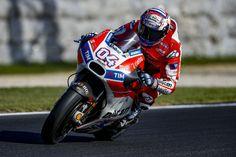 """MotoGP – Andrea Dovizioso: """"A Desmosedici GP tem de curvar melhor"""""""
