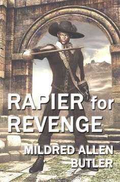 New cover for the ebook edition of Rapier for Revenge.