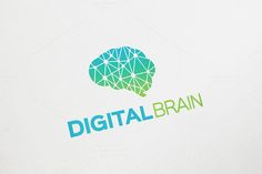 Digital Brain Logo by Arslan on Creative Market