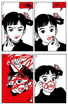 Putting on lipstick can be a task at times...