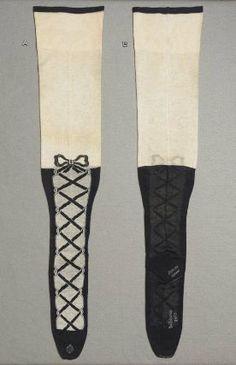 Pair of women's stockings, Germany, 1910-17