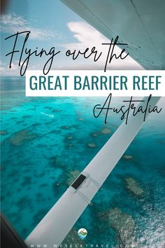A Great Barrier Reef flight from Cairns is by far, one of the best ways to experience the beauty of the world's largest coral reef system. Read about my experience as I give you some useful tips on how to make the most of this once in a lifetime experience!