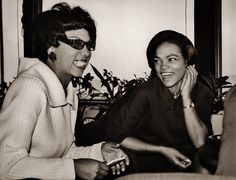 Josephine Baker and Eartha Kitt