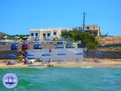 accommodatie-op-Kreta - Zorbas Island apartments in Kokkini Hani, Crete Greece 2020 Crete Holiday, Crete Greece, Panama City Beach, Greek Islands, Rental Apartments, Beautiful Beaches, Mansions, Landscape, House Styles