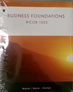 Business Foundations WCOB 1023 Business Foundations WCOB 1023 loose leaf binder  Read more http://cosmeticcastle.net/business-foundations-wcob-1023/  Visit http://cosmeticcastle.net to read cosmetic reviews