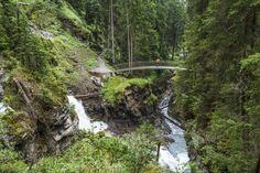 Wasserweg Flims Brücken Outdoor Furniture, Outdoor Decor, Hiking, Flims, Water, Walks, Trekking, Hill Walking, Outdoor Furniture Sets