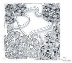Didisch website: DC 97 No String Tangle Doodle, Doodles Zentangles, Doodle Art, Doodle Inspiration, Doodle Designs, Adult Coloring Pages, Tangled, Fine Art, Website