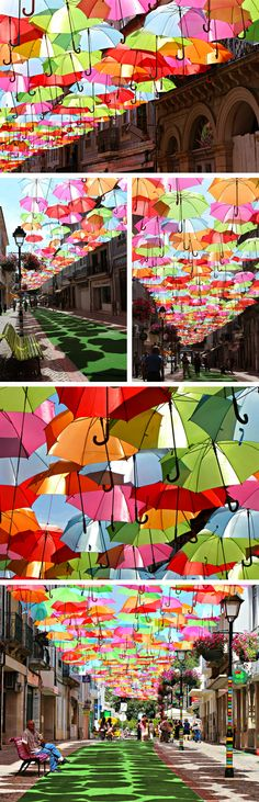awesome art instillation in Águeda, Portugal